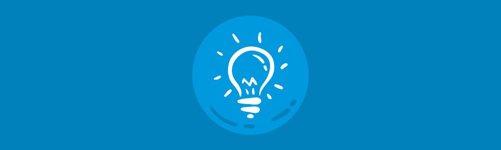 icone de uma lampada representando o vendas para explicar como ele ajuda o customer success
