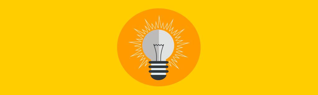 lampada representando dicas para se realizar vendas recorrentes