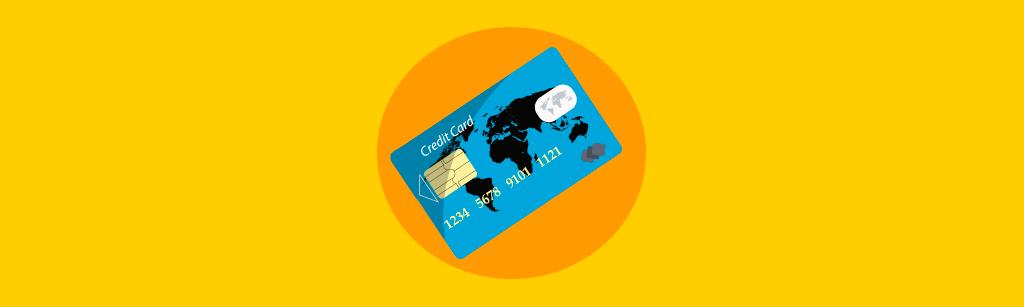 cartao de credito representando as vantagens das vendas recorrentes