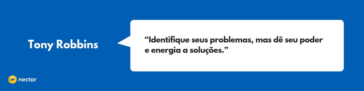 Frase de Tony Robbins